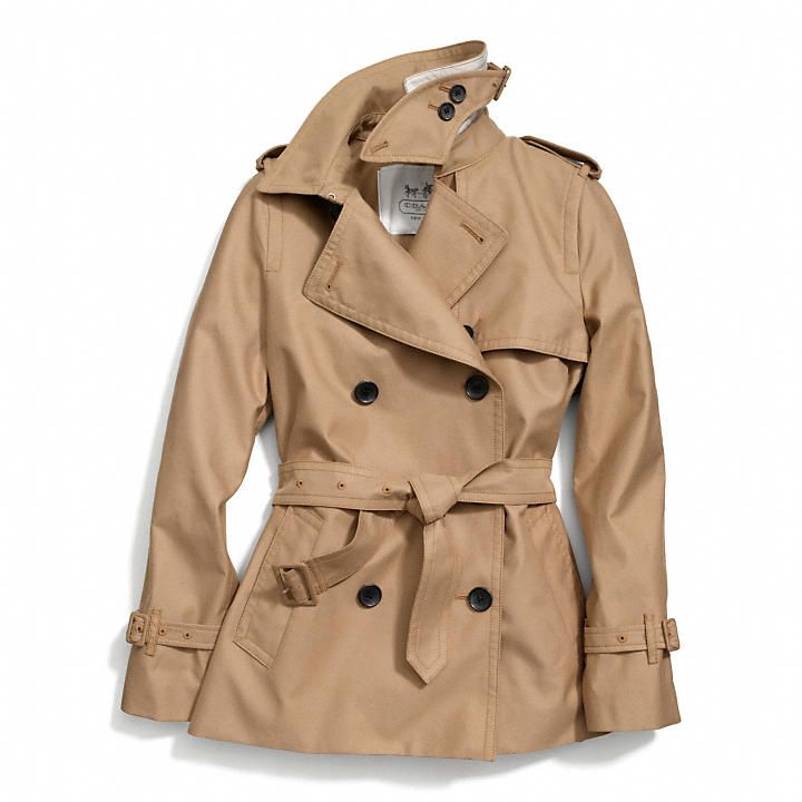Coach Classic Short Trench - I want!