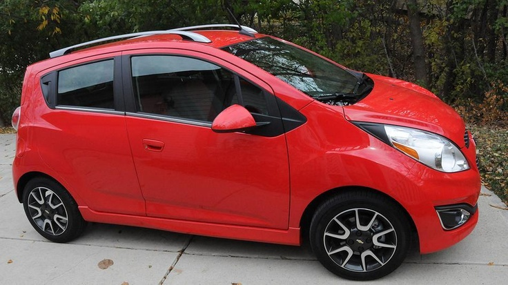 Information of the techno side of the Chevy Spark.