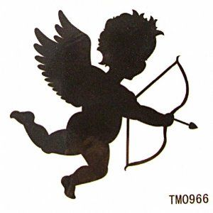 Taobaopit Cupid Temporary Tattoo Waterproof Body Tattoo Sticker(20 pcs/lot) by Taobaopit. $5.88. * Looks real & seamless. * Unisex and one size fits most.. * 100% waterproof and can last up to 7 days.. * Recommended Ages 9 to adult. WARNING: CHOKING HAZARD -- Small parts. Not for children under 3 yrs.. * Easy on and off, they can be removed with baby oil or rubbing alcohol.. Gender : Unisex Dimensions : 6cm*6cm (Packing Size:7cm*9cm)