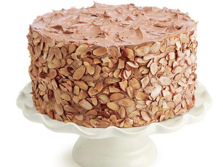 Vanilla Layer Cake with Chocolate Buttercream & Raspberry Jam
