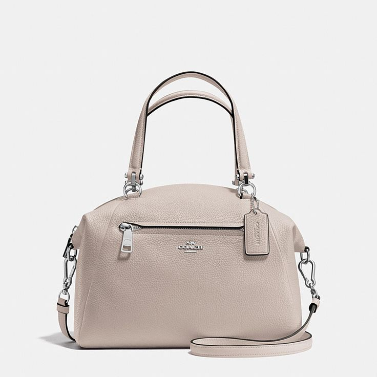 Shop The COACH Prairie Satchel In Pebble Leather. Enjoy Complimentary Shipping & Returns! Find Designer Bags, Wallets, Shoes & More At COACH.com!