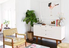 Ikea hack: kastje in mid-century stijl