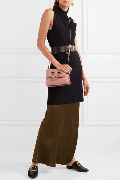 41a13fe593f8 JW Anderson Pink Calf Leather Mini Pierce Bag Purse BNWT #JWAnderson  #CrossbodyEveningBag