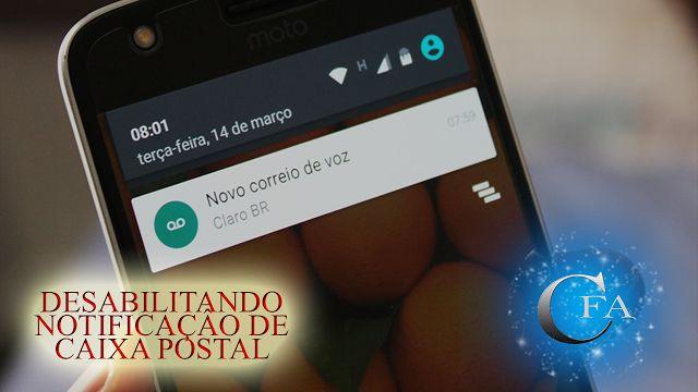 Veja como desativar as notificações de Caixa Postal de sua operadora de celular. ACESSE: https://youtu.be/Nr32pIbE-Tg
