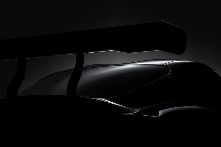 """Toyota press preview """"teaser"""" of the 5th generation Supra, in GAZOO racer form."""