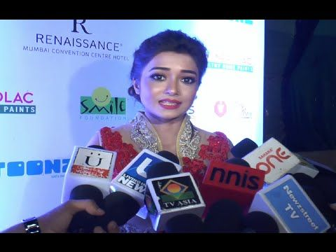 Tina Dutta at ramp for champs event by Smile Foundation.