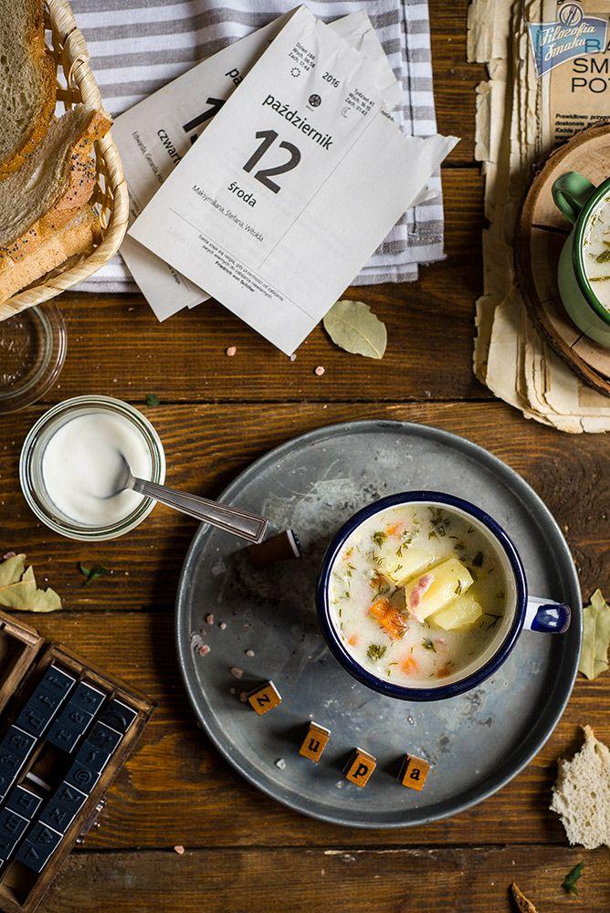 """Zupa koperkowa z ziemniakami   Dzień dobry,    """"Faza zupowa"""" wciąż trwa. W przeciągu niespełna tygodnia na blogu pojawiło się więcej prz..."""