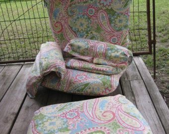 Slipcovers for your Nursery Glider Cushions-Custom Glider Cushion Slipcovers-Glider Cushion Slips
