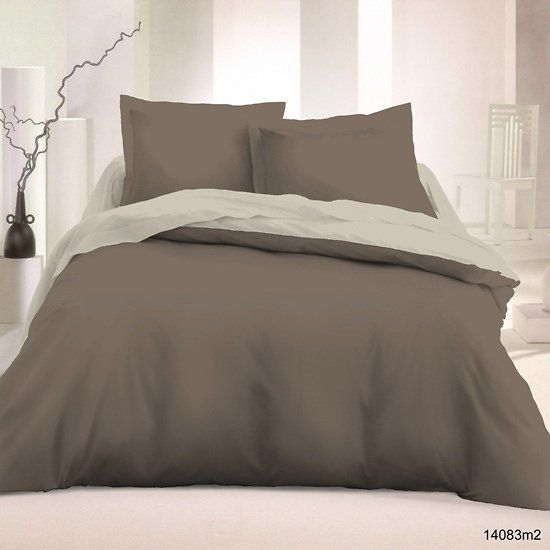 35 best parure de lit bicolore images on pinterest comforters duvet covers and budget. Black Bedroom Furniture Sets. Home Design Ideas