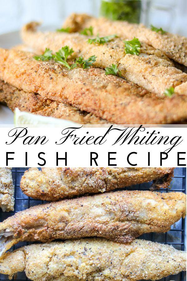 Pan Fried Whiting Fish