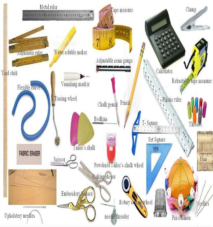 Basic sewing tools pattern making patternless