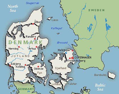 Melhores Ideias De Denmark Map No Pinterest Mapa Da - Map of denmark