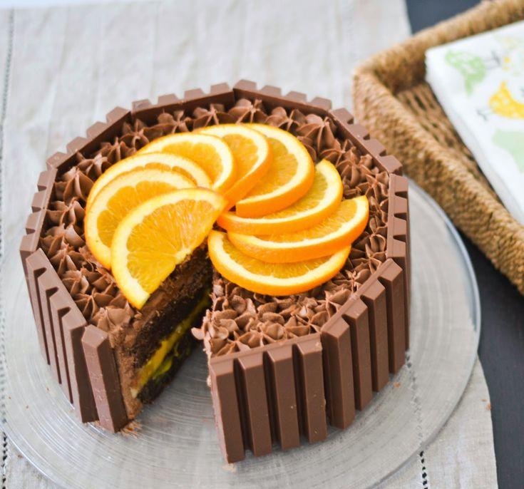 Cup and Cakes: Kvikk Lunsj Kake - Påskekake