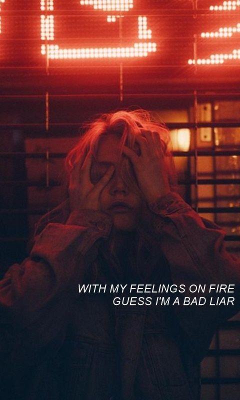 Lockscreen/Wallpaper ¤ Bad Liar - Selena Gomez ¤