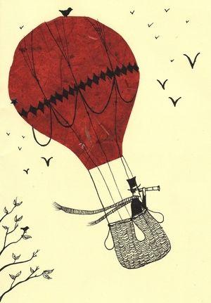 Hot Air Balloon Gentleman