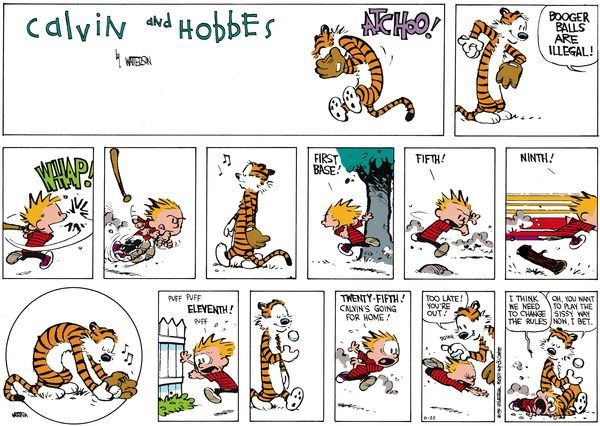 136 Best Calvin And Hobbes Book Images On Pinterest