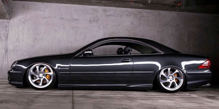 An Air Suspension Somehow Made This Mercedes CL55 AMG More Reliable