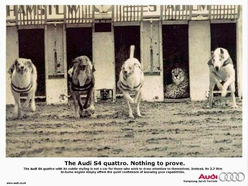 Audi - Nothing to prove