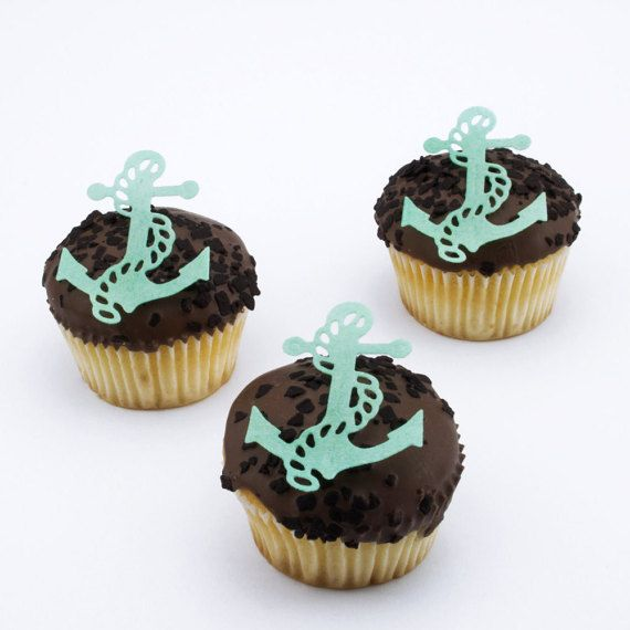 Handmade cupcake toppers delivered to your door.  Order online via Etsy