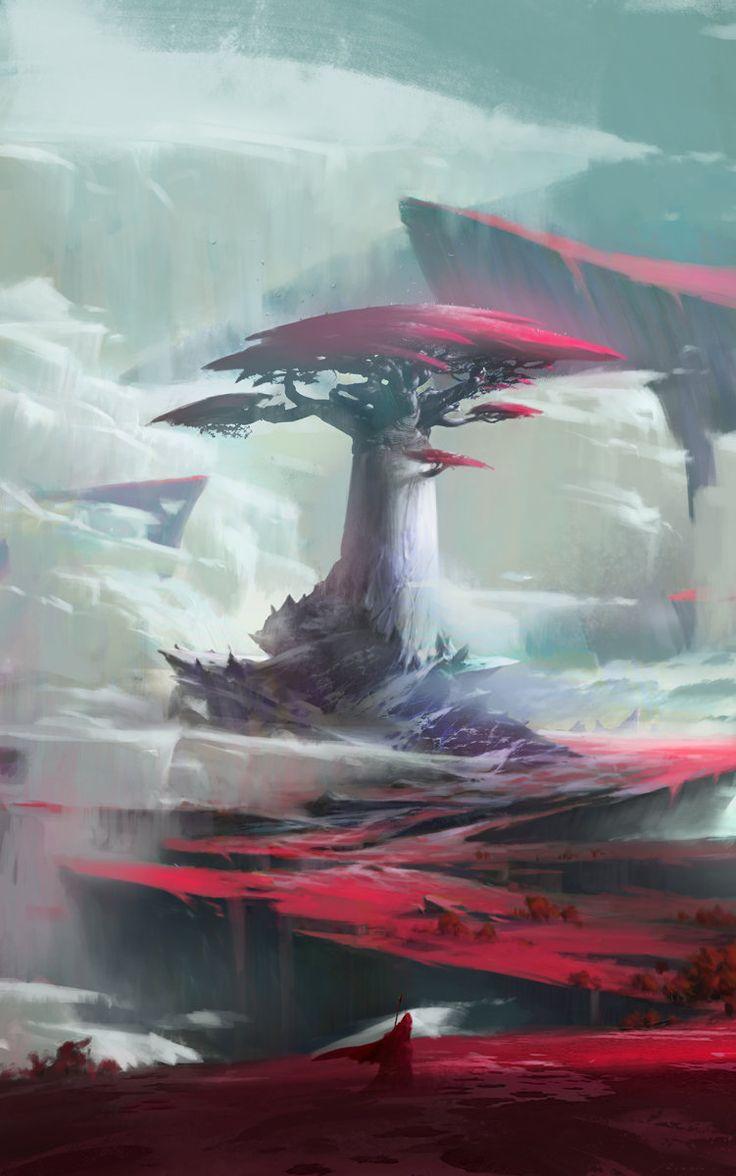 Cloud 2, Ruxing Gao on ArtStation at https://www.artstation.com/artwork/cloud-2