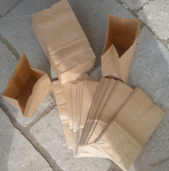 200 Penny Small Brown Paper BAGS by ddcreations on Etsy