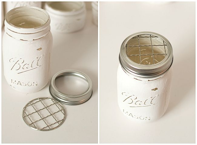 Mason jar bathroom storage accessories crafts ideas for Small bathroom jars
