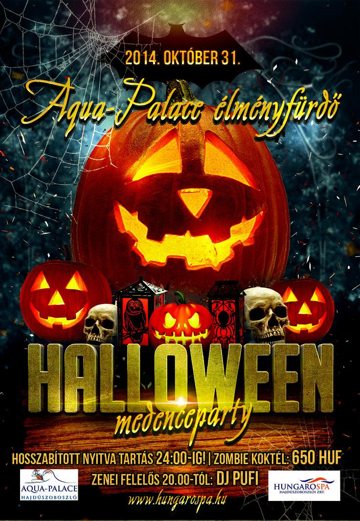 Halloween party az Aqua-Palace Élményfürdőben