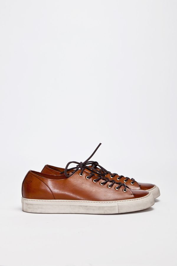 Buttero Tanino Low Leather Brown | TRÈS BIEN