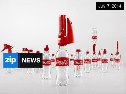 欲しい!コカコーラが発明した16の斬新なボトルキャップが世界で話題!   CuRAZY [クレイジー]