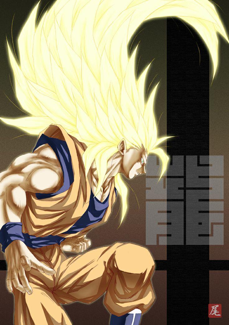 DBZ level 3 Goku