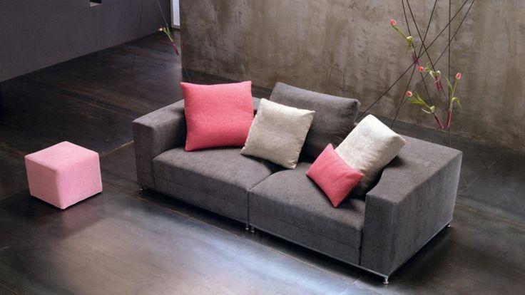 Nesting Sofa By Saba Italia. Overturn The Seat Cushion, Position It On The  Ground