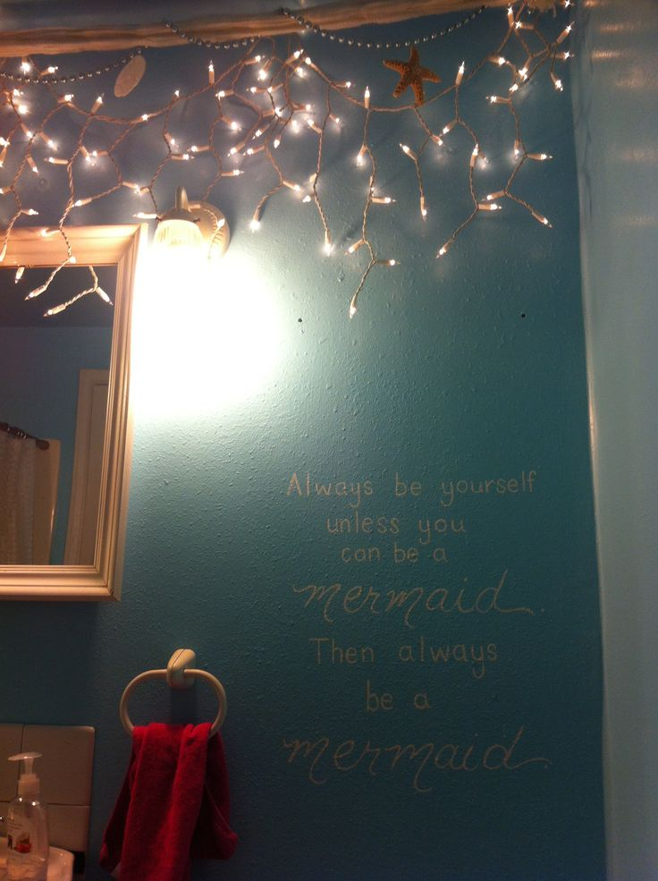 Mermaid Bathroom Decor Ideas 340 best bathroom mermaid sea theme images on pinterest | beach