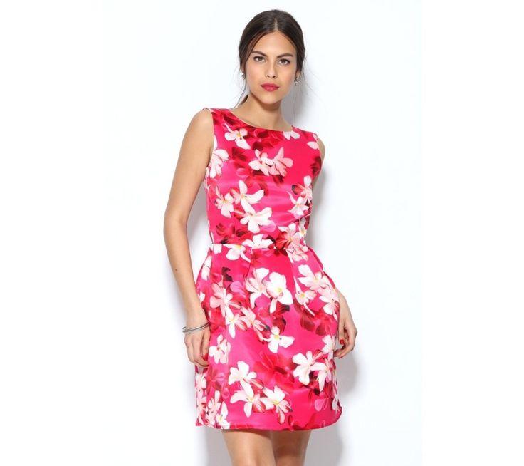 Šaty bez rukávů s květinovým potiskem | modino.cz #ModinoCZ #modino_cz #modino_style #style #fashion #dress