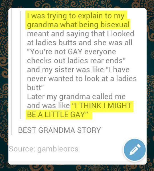 Oh Grandma...