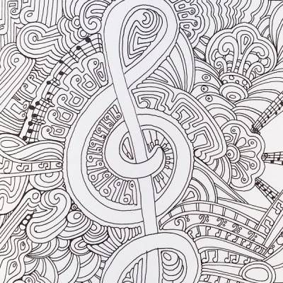 211 best Color of Music images on Pinterest Coloring books - fresh music mandala coloring pages