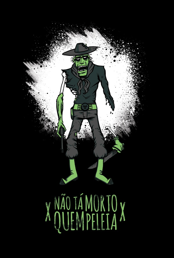 The Pampa Dead by Gregory Ramos, via Behance