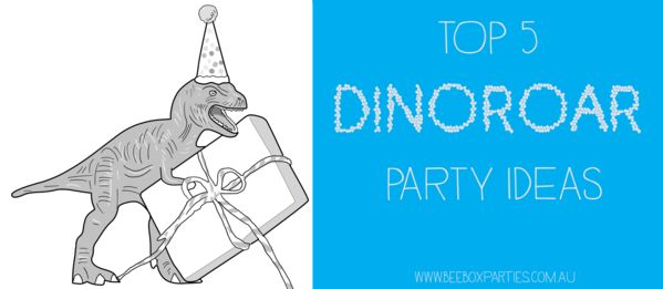 DinoRoar Dinosaur Party Tips and Ideas. Bee Box Parties has you covered at every step of the party process; our handy Best 5 Blogs are a welcome source of party inspiration and planning advice. https://beeboxparties.com.au/blogs/news