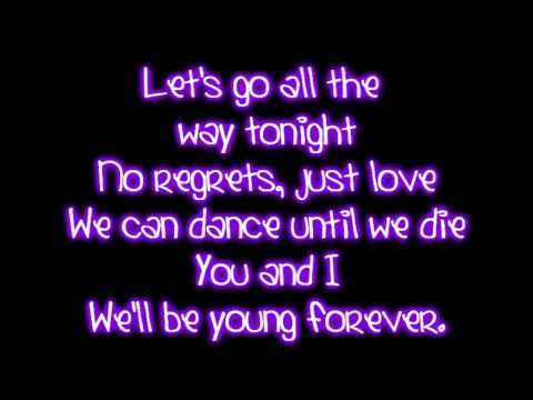 Teenage Dream - Katy Perry Lyrics Fun song. Great running away together theme song.