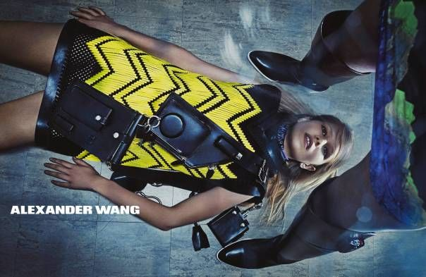 Anna Ewers, Vanessa Moody, Kat Hessen, Lexi Boling, Katlin Aas by Steven Klein for Alexander Wang Fall Winter 2014-2015 6