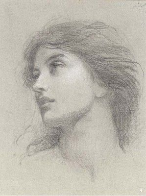 "Sir Francis Bernard Dicksee ~ Study for ""Chivalry"" ..  ..  Pre Raphaelite Art~"