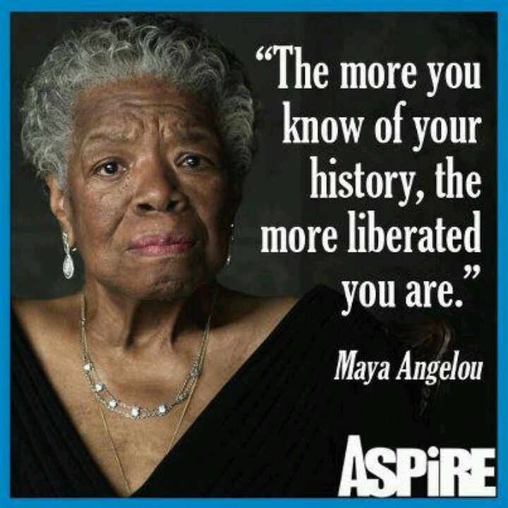 Quotes Maya Angelou: 17 Best Black History Quotes On Pinterest