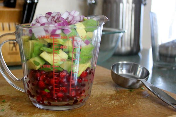 This superfood recipe features quinoa, pomegranate seeds, plus two other delicious nutrient-packed ingredients!