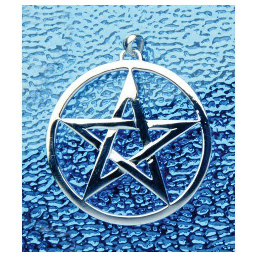 Vitaliseert en versterkt de aura. Symboliseert de harmonie van de vijf elementen: vuur, water, lucht, aarde, ether. Een van de oudste macht en beschermings symbolen. Ø50 mm