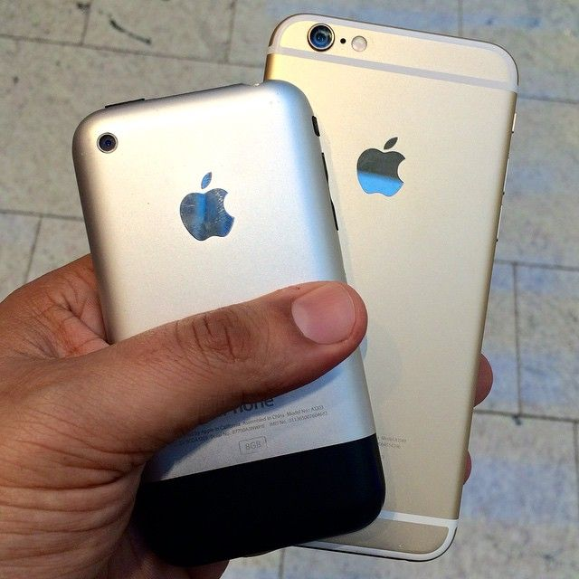 iPhone 2g and iPhone 6