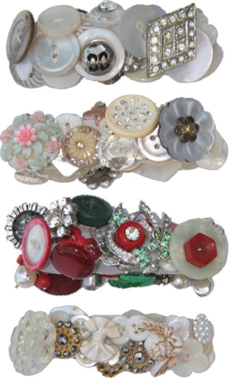Brenda Walton, Button Bracelets...Awesome site!