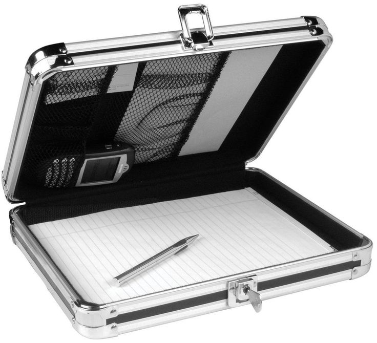 Locking Case Clipboard Storage Box Letter Size Document Paper Folder Holder Gift #Vaultz
