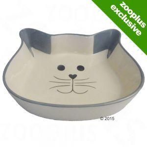 Trixie Cat Face Ceramic Bowl