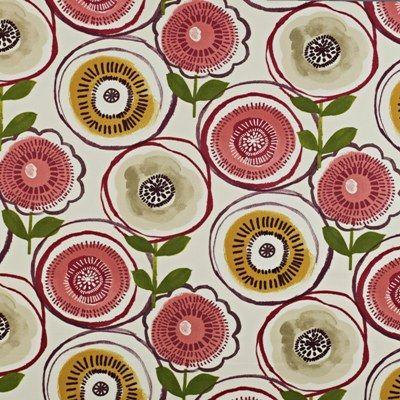 Indah Berry 100% Cotton 137cm wide |64cm repeat Curtaining