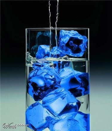 blue ice -- good idea for alcoholic drinks  Get your Quality, Double Opt-In, Surveyed, Responsive Buyer's Leads Today!  ibourl.com/1ohd