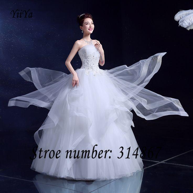 Free Shipping New White High Quality Vestidos De Novia Bride Wedding frocks Princess Whie Sexy Wedding gowns Wedding dress K99